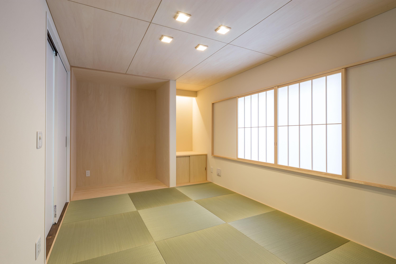 仏壇スペースのある和室
