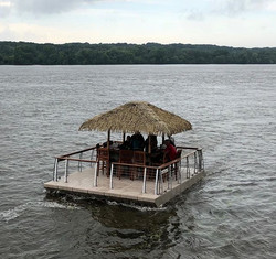 The ultimate party barge! Big-huts.com