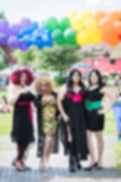 Four fabulous drag queens at Pride 2018