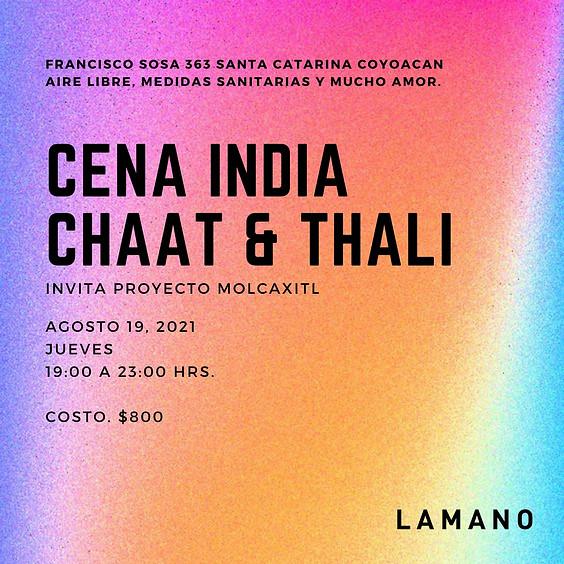 Cena India Chaat & Thali