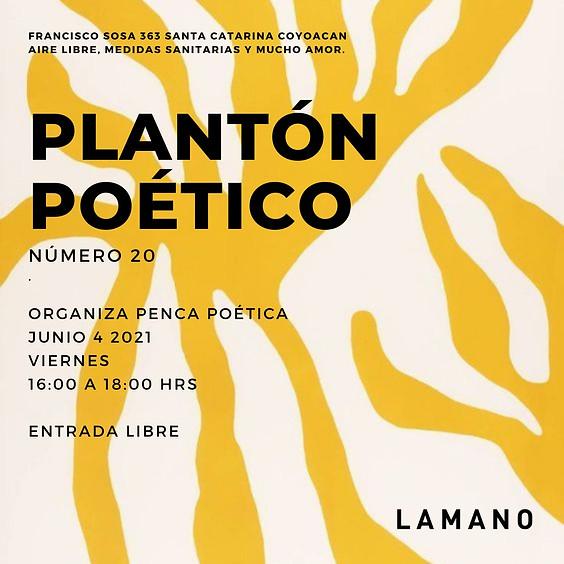 Plantón Poético