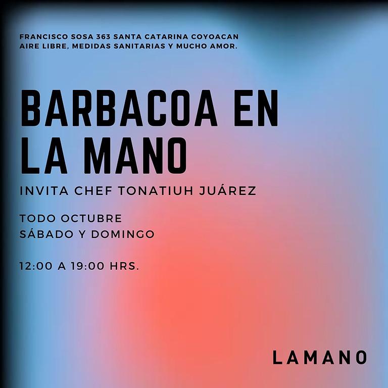 Barbacoa en LA MANO