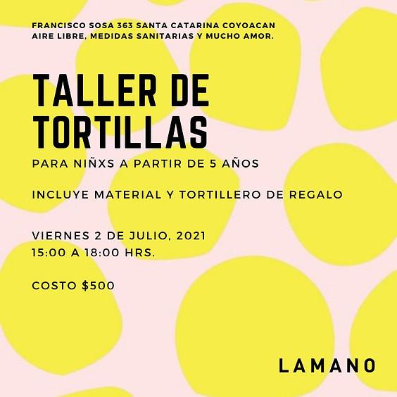 Taller de Tortillas