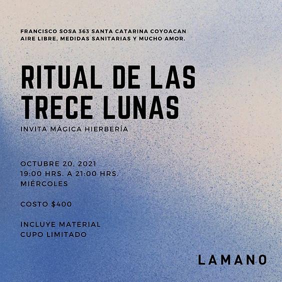 Ritual de las trece lunas