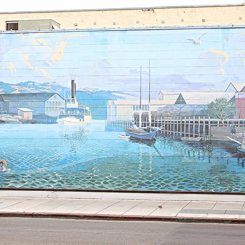 Napa Art Mural Downtown