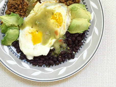 Why Black Beans + Over Medium Eggs = An Awesome Go To