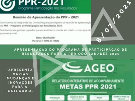 APRESENTAÇÃO PPR 2021 EMPRESAS AGEO TERMINAIS E S3 OPERADORES PORTUÁRIOS