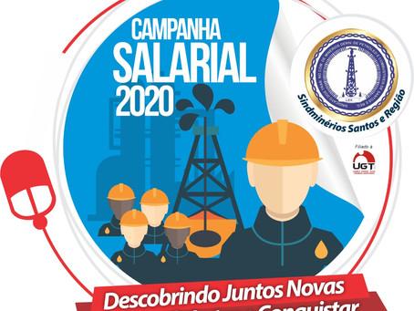 Sindminérios Santos promove Campanha Salarial 2020