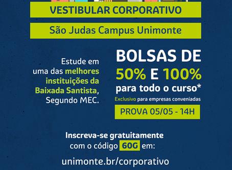 """#UNIMONTE - VESTIBULAR-CORPORATIVO"""""""
