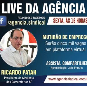 Live da Agência