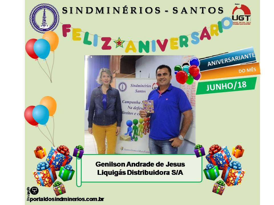 Genilson Andrade de Jesus - Liquigás Distribuidora S/A