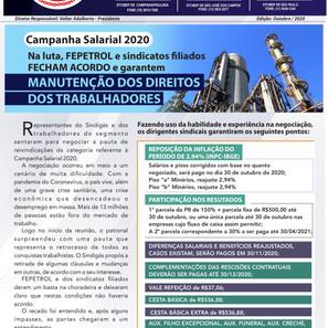 Informativo da Fepetrol e Sindicatos filiados