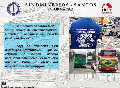 PROTESTO CONTRA POLÍTICA DE REAJUSTE DE COMBUSTÍVEIS
