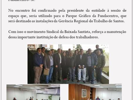 Sindminérios participa de reunião sobre Gerência Regional do Trabalho de Santos
