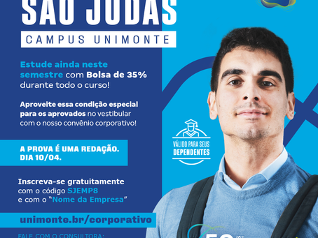 Vestibular Exclusivo Empresas São Judas