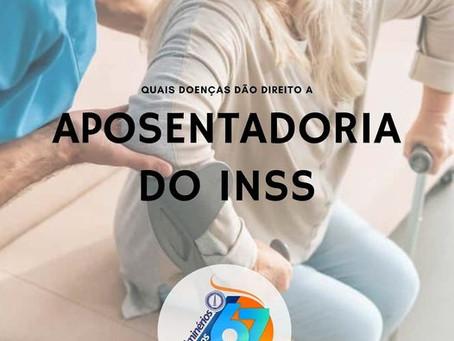 Quais doenças dão direito a aposentadoria do INSS