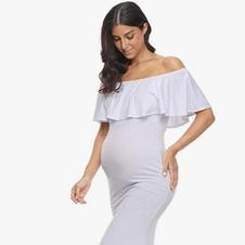 Sweatheart dress (White) Rental fee: $20.00