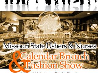 Missouri State Ushers & Nurses Calendar Brunch and Fashion Show