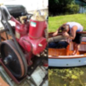 Cacouna engine and me.JPG
