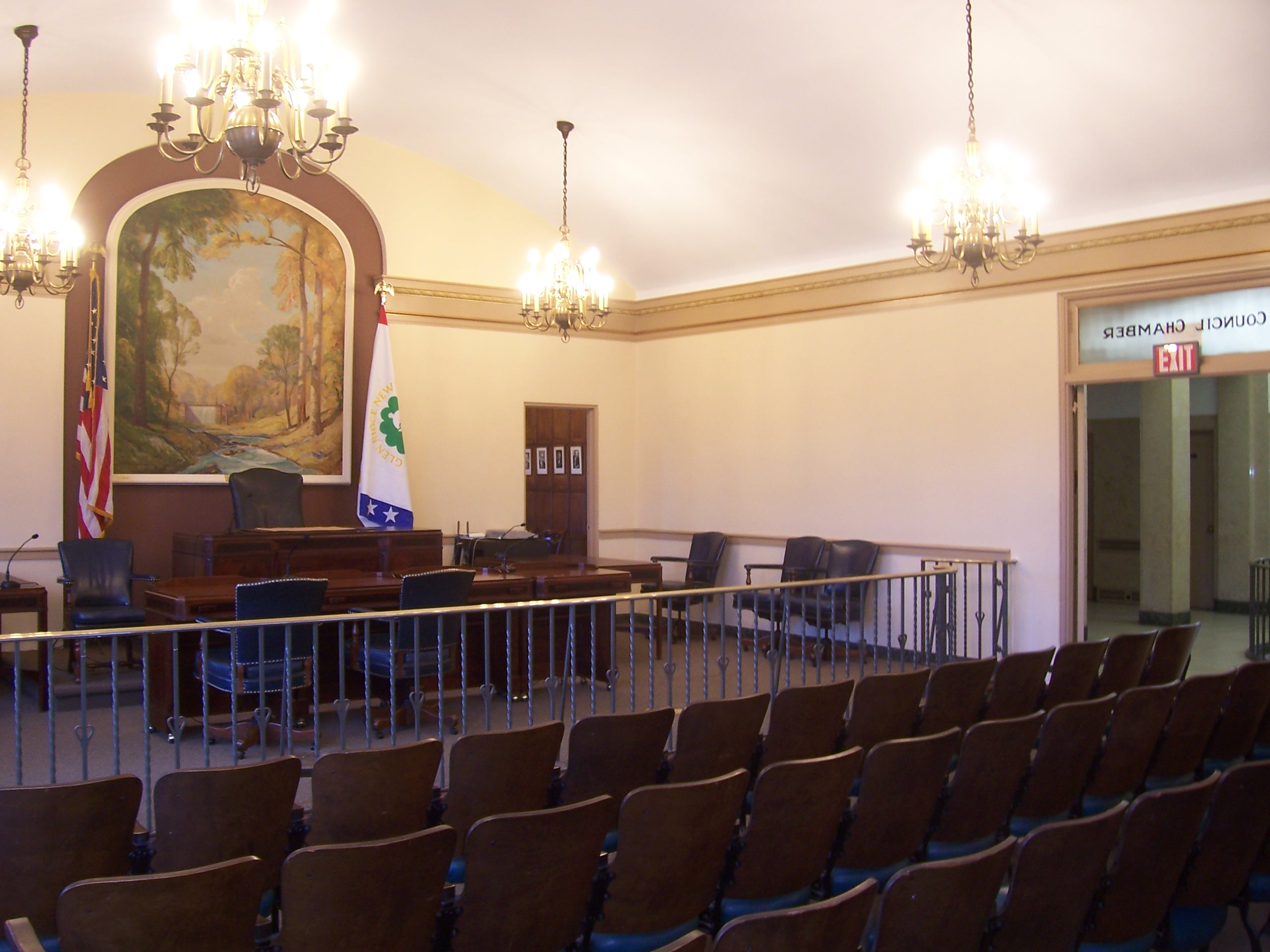 Glen Ridge Council Chambers