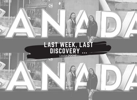Last week, last discovery