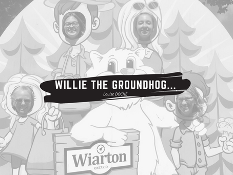 Willie the groundhog