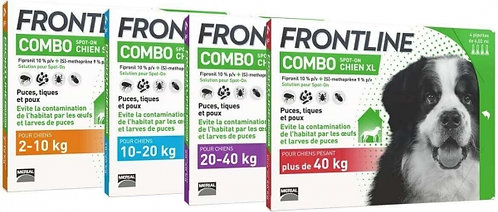 FRONTLINE COMBO CANI 3 PIPETTE