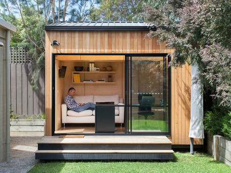 Considering a Backyard Office?  The time is now.