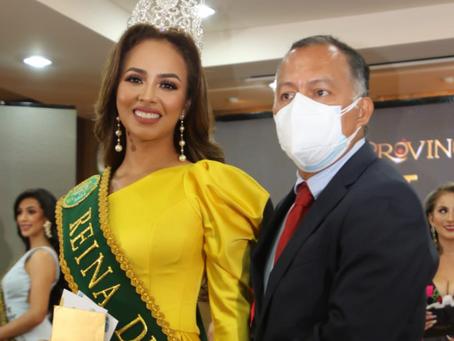 Paola Vergara de Machala, es la reina de El Oro 2021