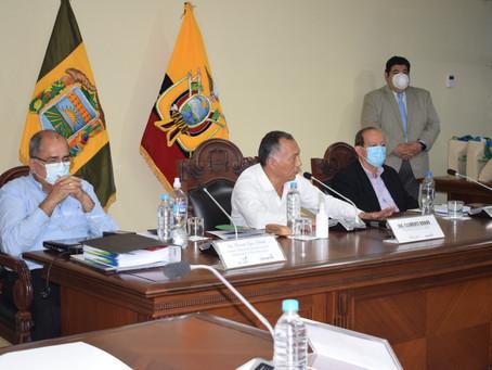 Prefectura articula con gobernador y legisladores concreción de proyectos