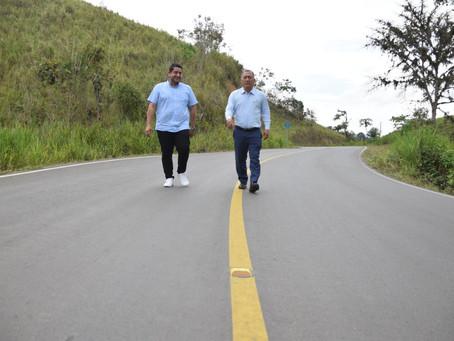 Prefectura entregó obra vial en La Bocana