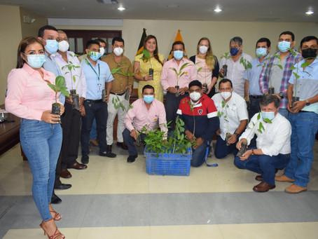 Prefectura lidera plan de reforestación