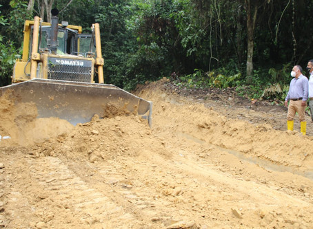 Nuevos accesos viales fortalecen producción del sector rural de Santa Rosa