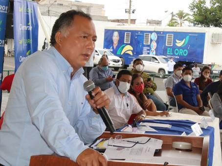 Prefectura de El Oro  recibirá apoyo de BDE y BID con alianzas público - privadas
