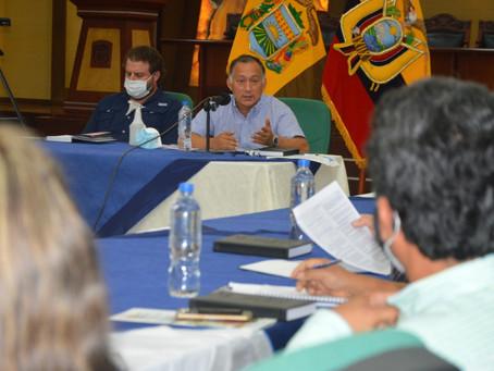 Se mantuvo una reunión de trabajo con representantes del sector bananero y autoridades de control