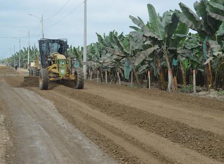 Intervención de la vía a Pajonal reporta 30 % de avance