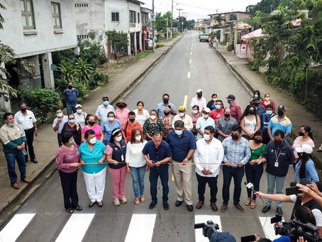 Prefectura entregó obra vial en Progreso