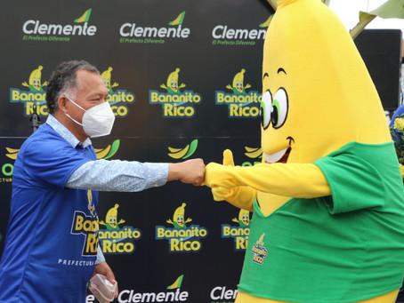 Prefectura lanza nuevo proyecto Bananito Rico