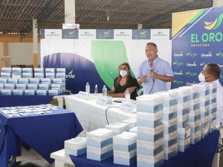 Prefectura entrega 100 mil pruebas rápidas para detectar COVID-19