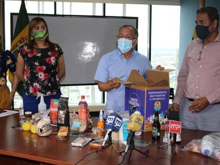 Productos orenses con miras multinacionales Prefectura organizó rueda de negocios para emprendedores