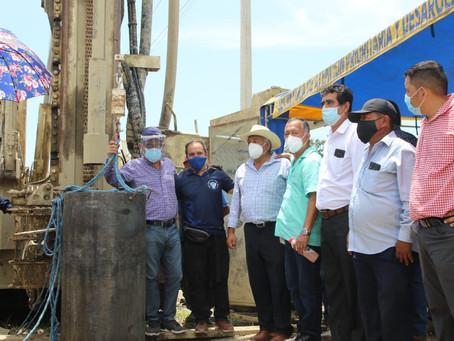 Ocho barrios de Huaquillas se abastecerán de agua con perforación de pozos
