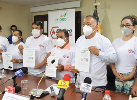 Prefectura lanzó campaña El Oro Sin Fuego