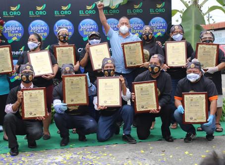 Prefectura rindió homenaje a huecas tradicionales de Machala
