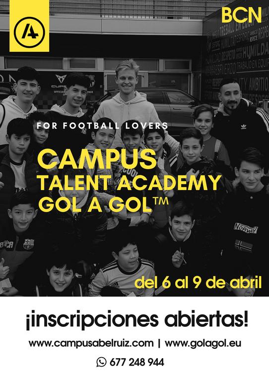 Cartel Talent Academy Semana Santa 20.pn