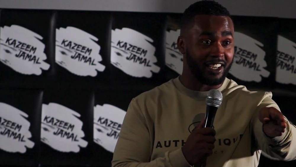 comedian Kazeem Jamal