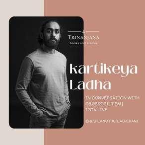 Kartikeya Ladha: Interview with new-age author