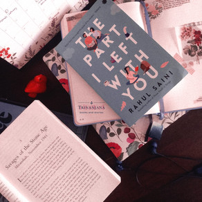 The Part I Left With You by Rahul Saini: book review