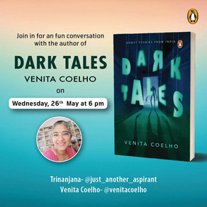 Venita Coelho, author or Darktales: author interview