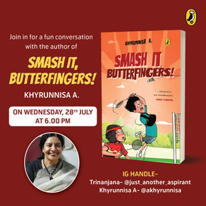 Khyrunnisa A: In conversation with author
