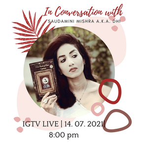 In conversation with Saudamini Mishra